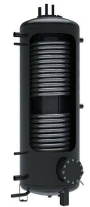 Hygiene boiler met 2 warmtewisselaars
